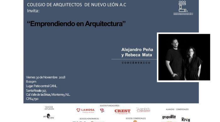 emprendiendo en arquitectura 30 nov 2018